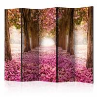 Vouwscherm - Pink Grove 225x172cm