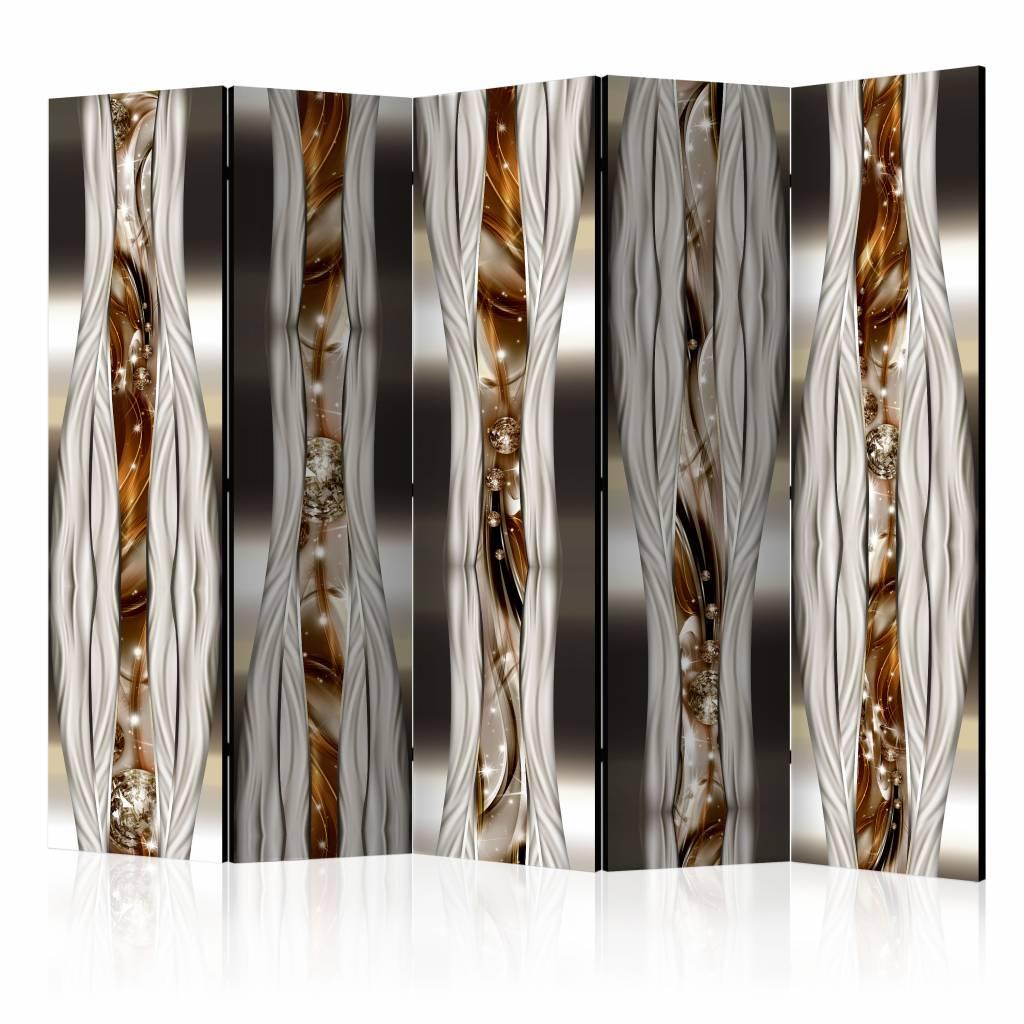 Vouwscherm - Artistieke expressie II 225x172cm