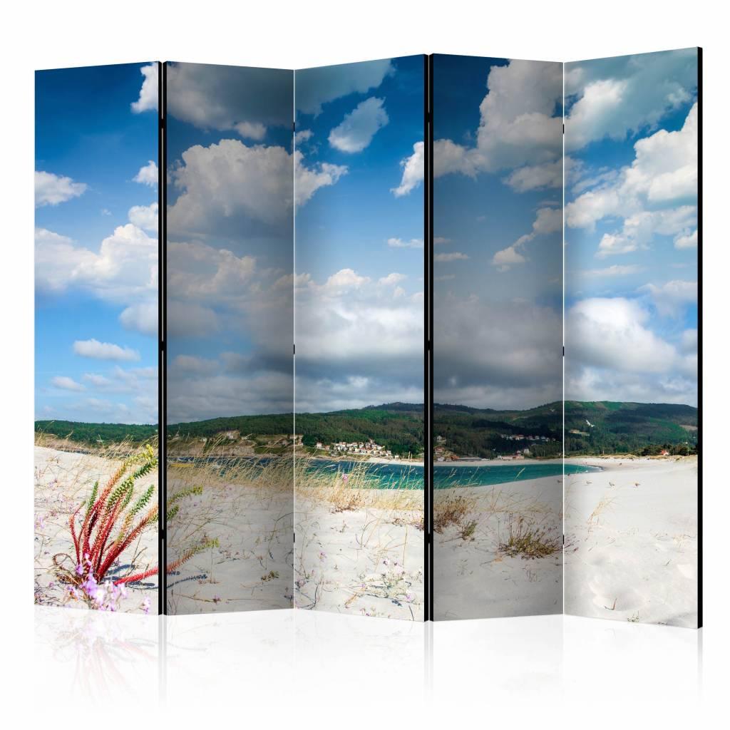 Vouwscherm - Strand Costa da Morte, Spanje 225x172cm
