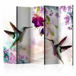 Vouwscherm - Kolibrie 225x172cm