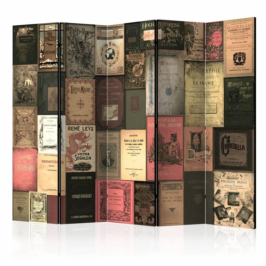 Vouwscherm - Bibliotheek 225x172cm