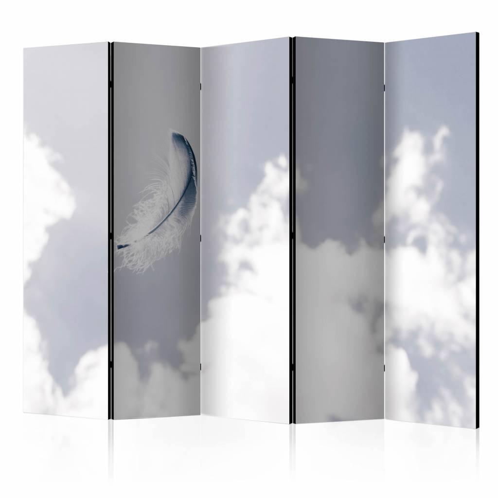 Vouwscherm - Veer in de lucht 225x172cm