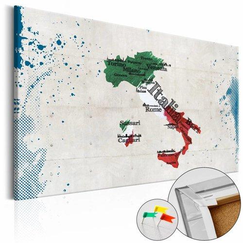 Afbeelding op kurk - Italië, , Multi kleur, 1luik