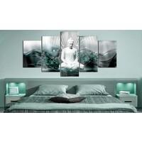 Afbeelding op acrylglas - Azure Meditation [Glass]