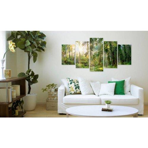 Afbeelding op acrylglas - Green Sanctuary [Glass]