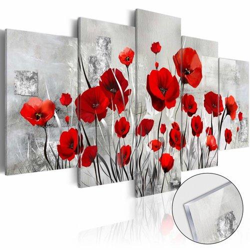 Afbeelding op acrylglas - Scarlet Cloud [Glass]