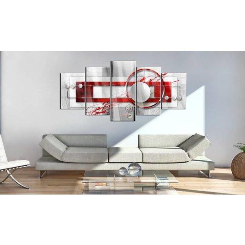 Afbeelding op acrylglas - Incarnadine Energy [Glass]