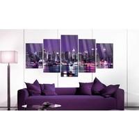 Afbeelding op acrylglas - Purple Sky [Glass]