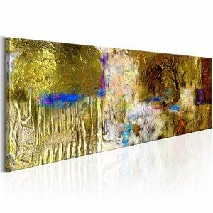 Handgeschilderd schilderij - Zonneschat