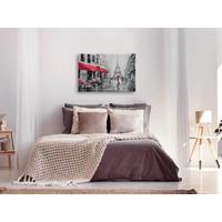 Doe-het-zelf op canvas schilderen - Regenachtig Parijs 60x40cm