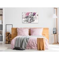 Doe-het-zelf op canvas schilderen - Engel 60x40cm
