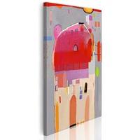 Schilderij - Magie in het huis, 1 deel, 1 maat , multi kleur