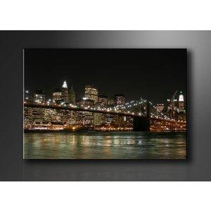 Schilderij - New York, 80X60cm, 1luik