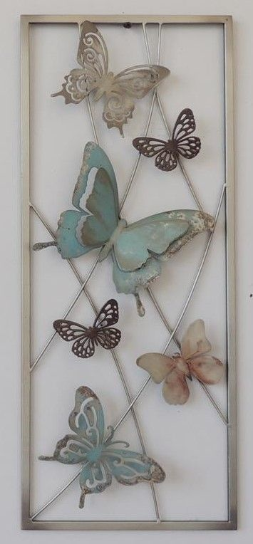 Frame 3D art - Vlinders 25X60cm
