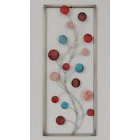 Frame 3D art - Bloemknoppen 25X60cm