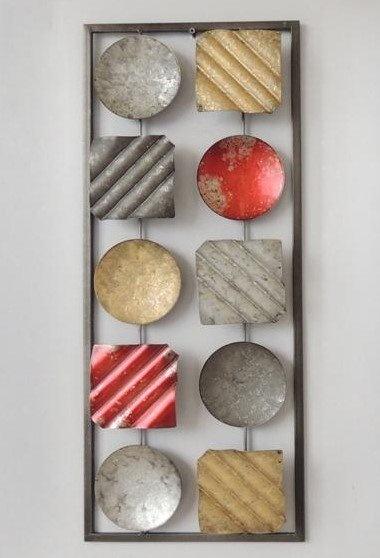 Frame 3D art - Abstract 3, 25X60cm