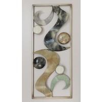 Frame 3D art - Abstracte Golven 25X60cm