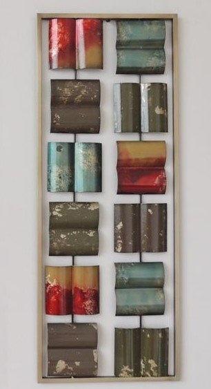 Frame 3D art - Abstract 5, 28X73cm