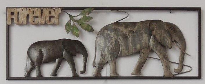 Frame 3D art - Olifant forever 28X73cm