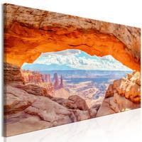 Schilderij - Canyon in Utah