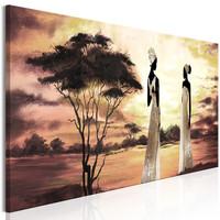 Schilderij - Afrikaanse Godinnen