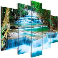 Schilderij - Waterval in Kanchanaburi 225x100