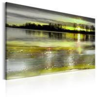 Schilderij - Stilte Meer