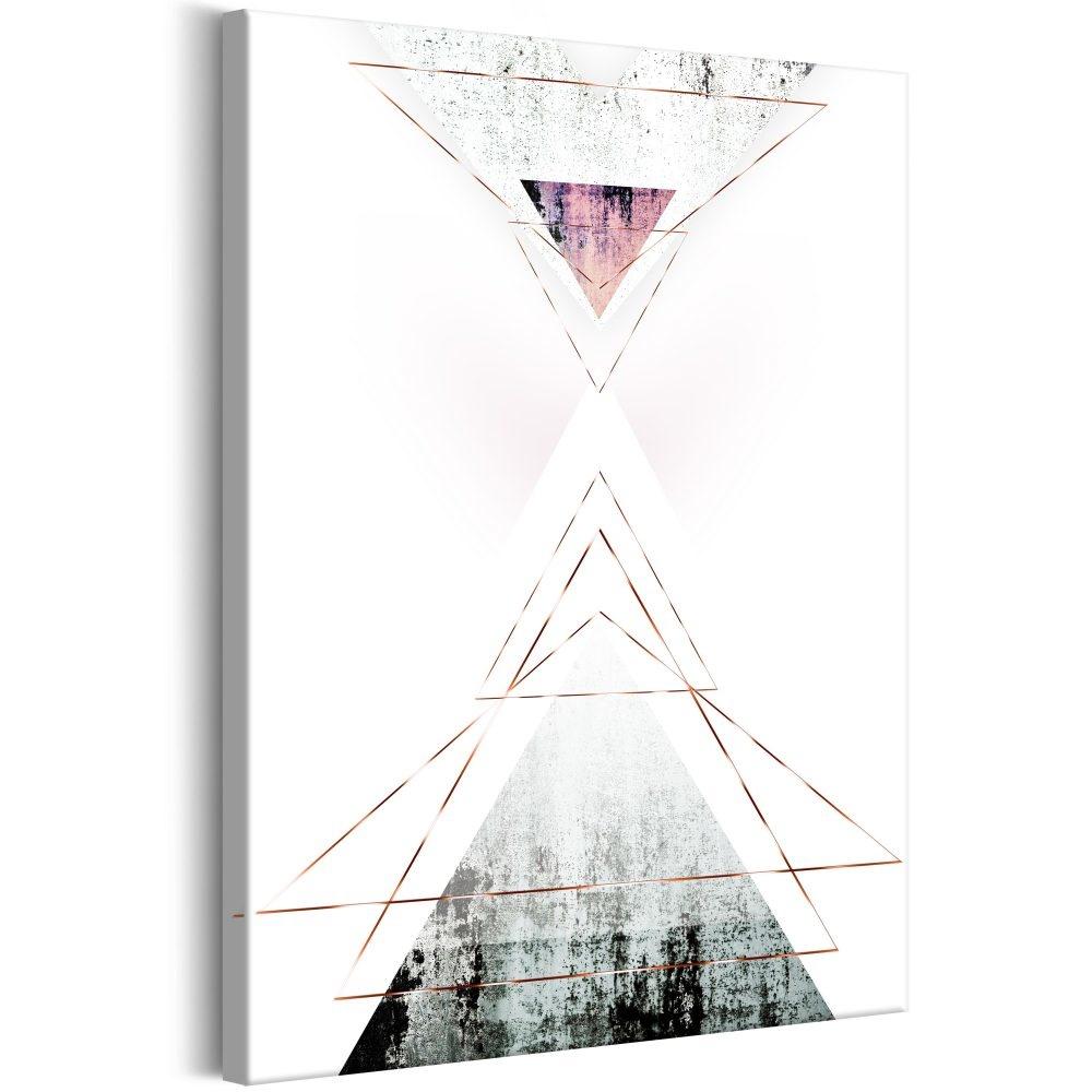 Schilderij - Geometrische Abstractie 60x90