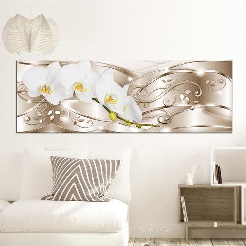 Schilderij -Bloeiend Goud