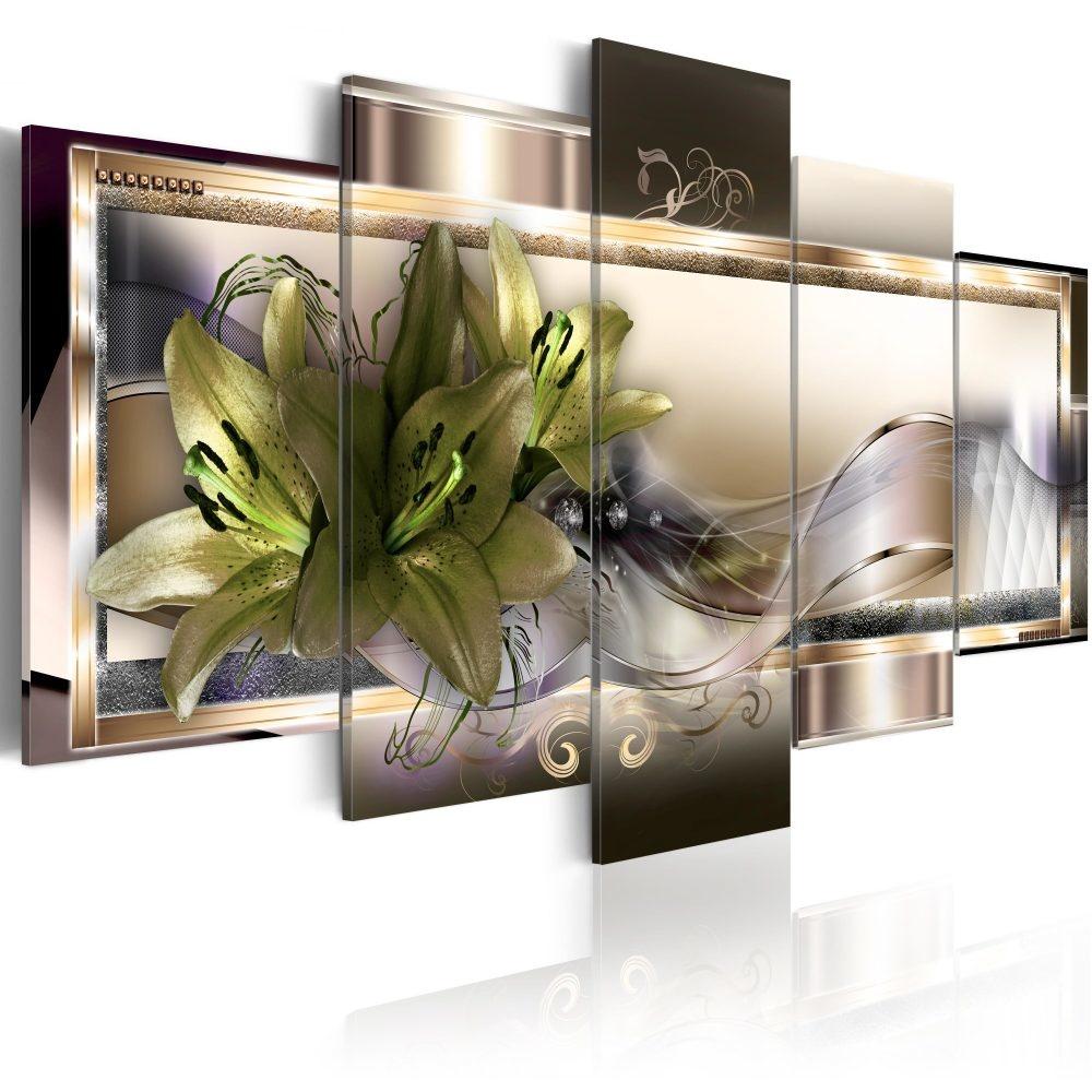 Schilderij - Frame van Schoonheid, 5luik
