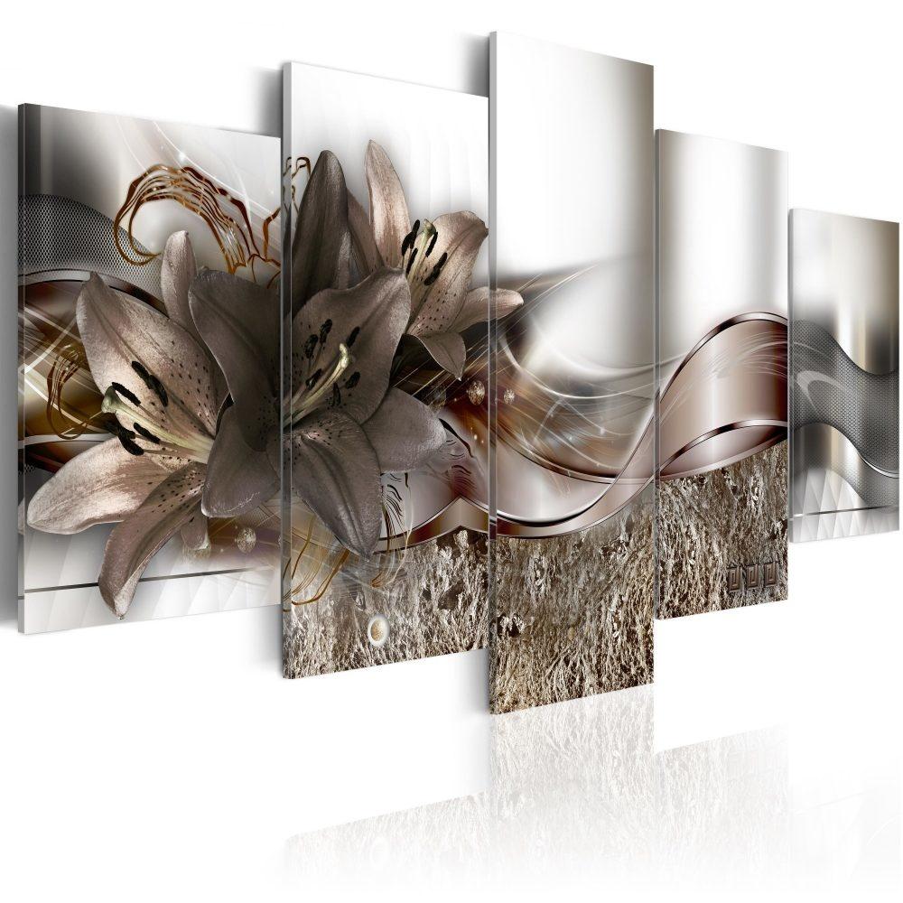 Schilderij - Buitengewone alliantie, 5luik - 200x100 cm