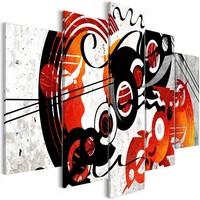 Schilderij - Muziek Creaties, 5luik