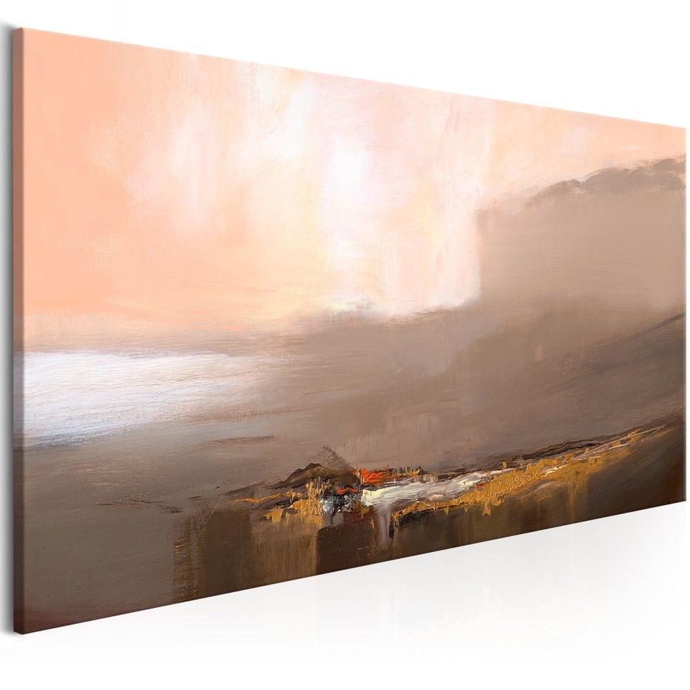 Schilderij - Laatste Stap, 100x45