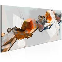 Schilderij - Abstracte Ketting