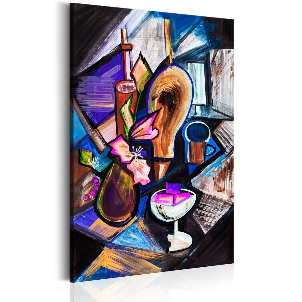 Schilderij - Jazz Club