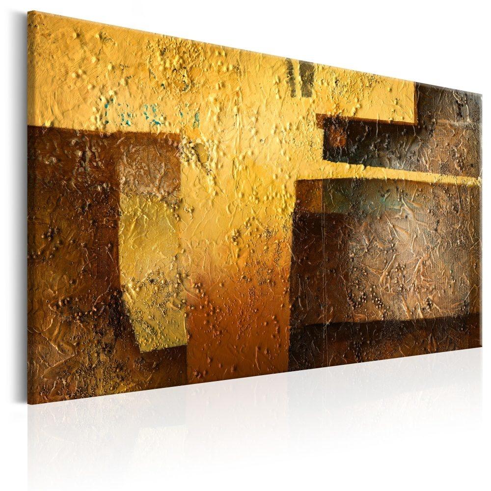 Schilderij - Gouden Moderniteit