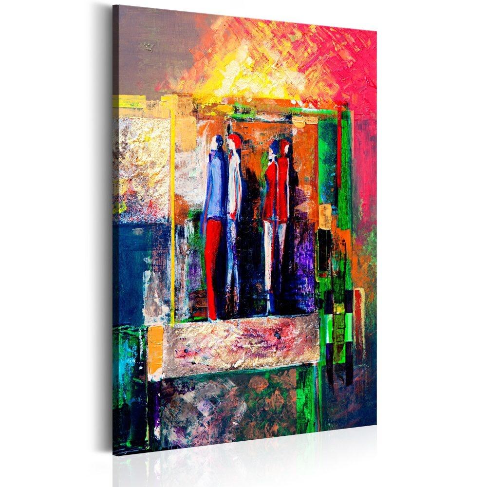 Schilderij - Moderniteit