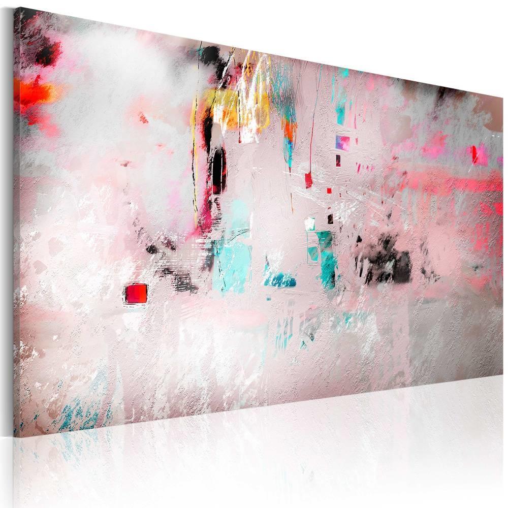 Schilderij - Abstract , Spontaniteit