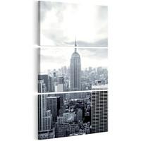Schilderij - New York: Empire State Building , 3 luik