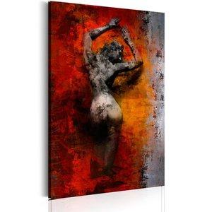 Schilderij - Sensualiteit , Vrouw