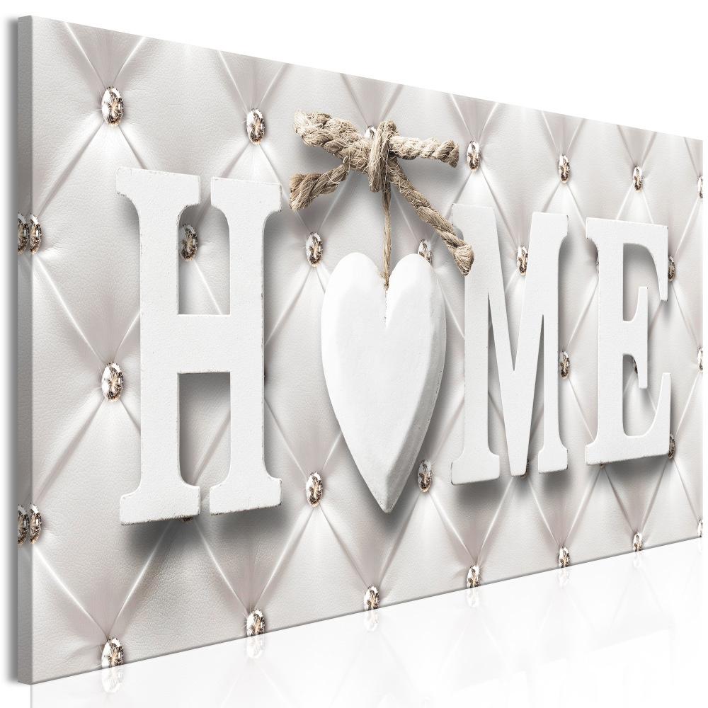 Schilderij - Chique Home, thuis