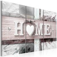 Schilderij - Originele vormgeving , Home , 3 luik