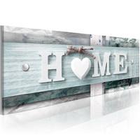 Schilderij - Home in moderne vormgeving II