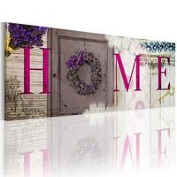 Schilderij -  Home met vintage veranda