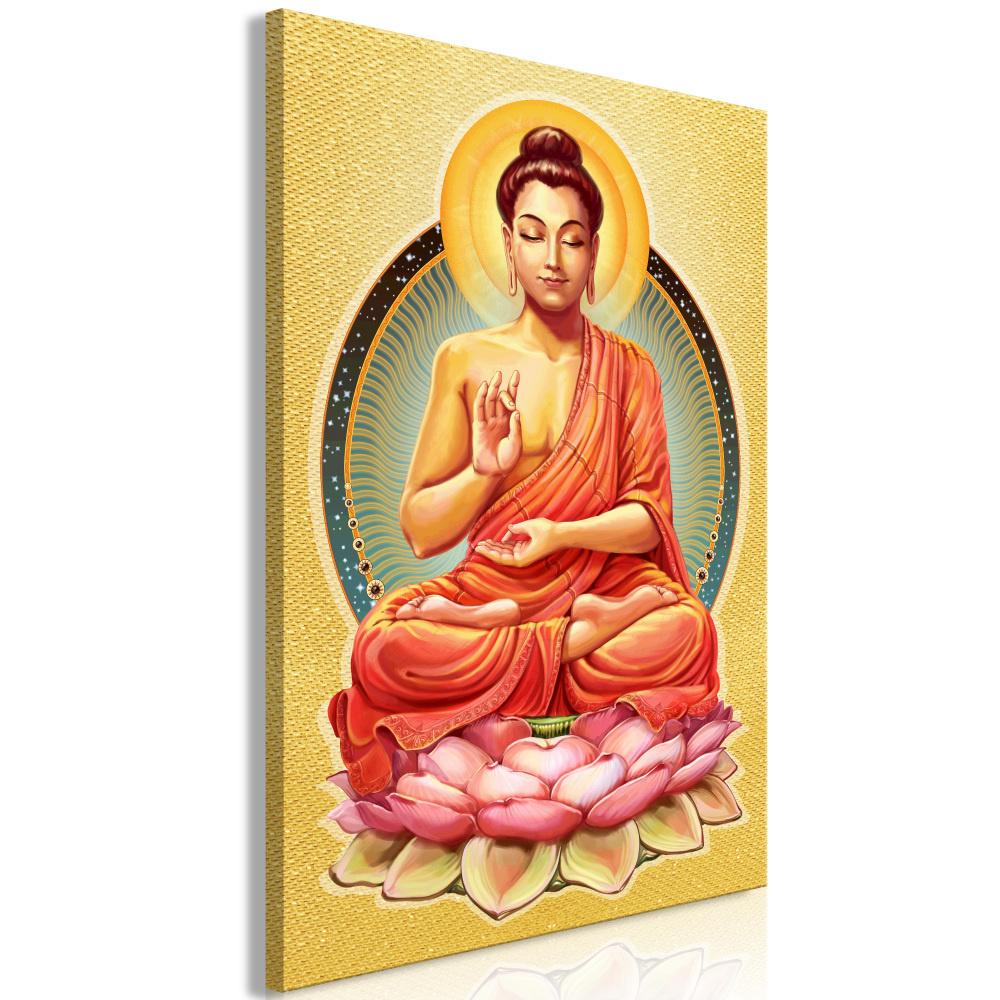 Schilderij - Vrede van Boeddha