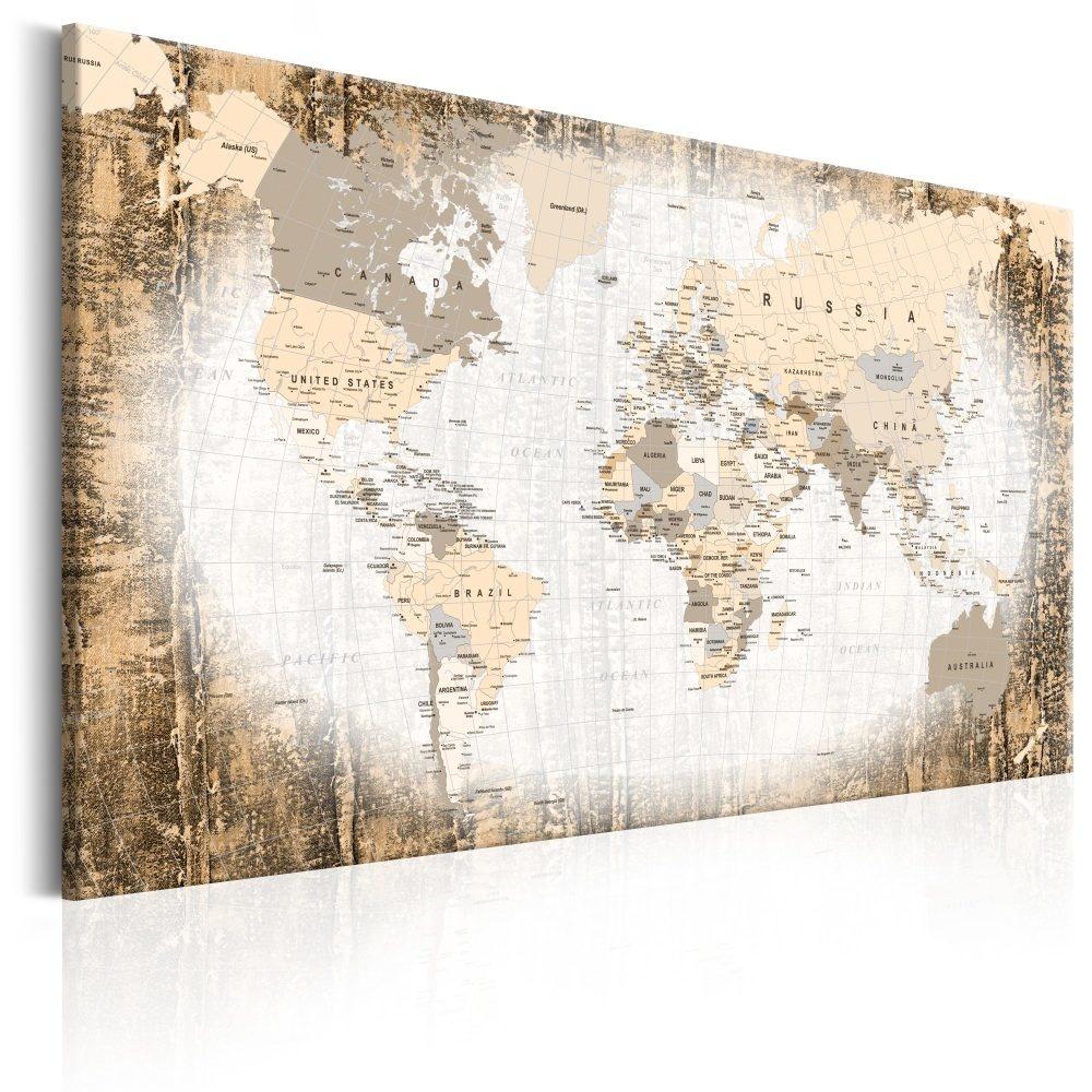 Schilderij - Enclave van de Wereld