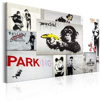 Schilderij - Banksy: Politie Fantasieën