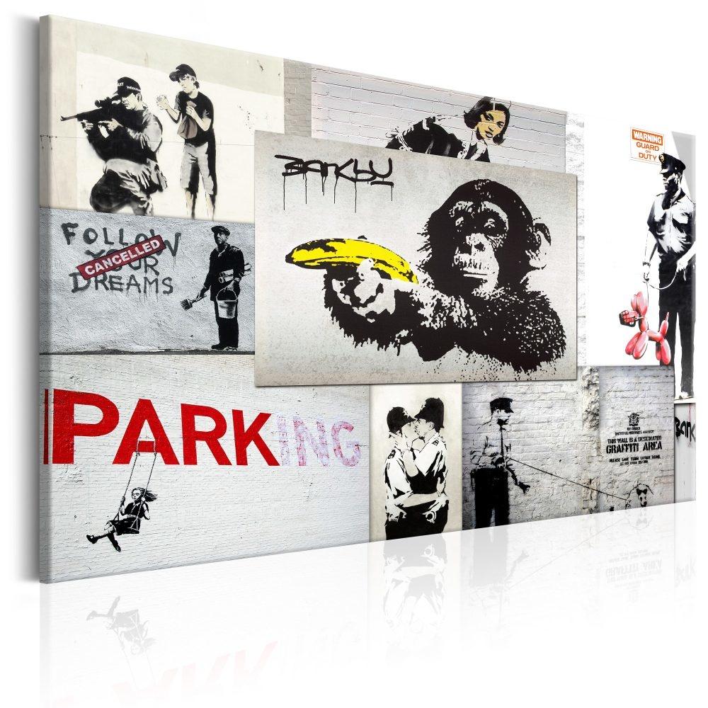Schilderij - Banksy: Politie Fantasieen