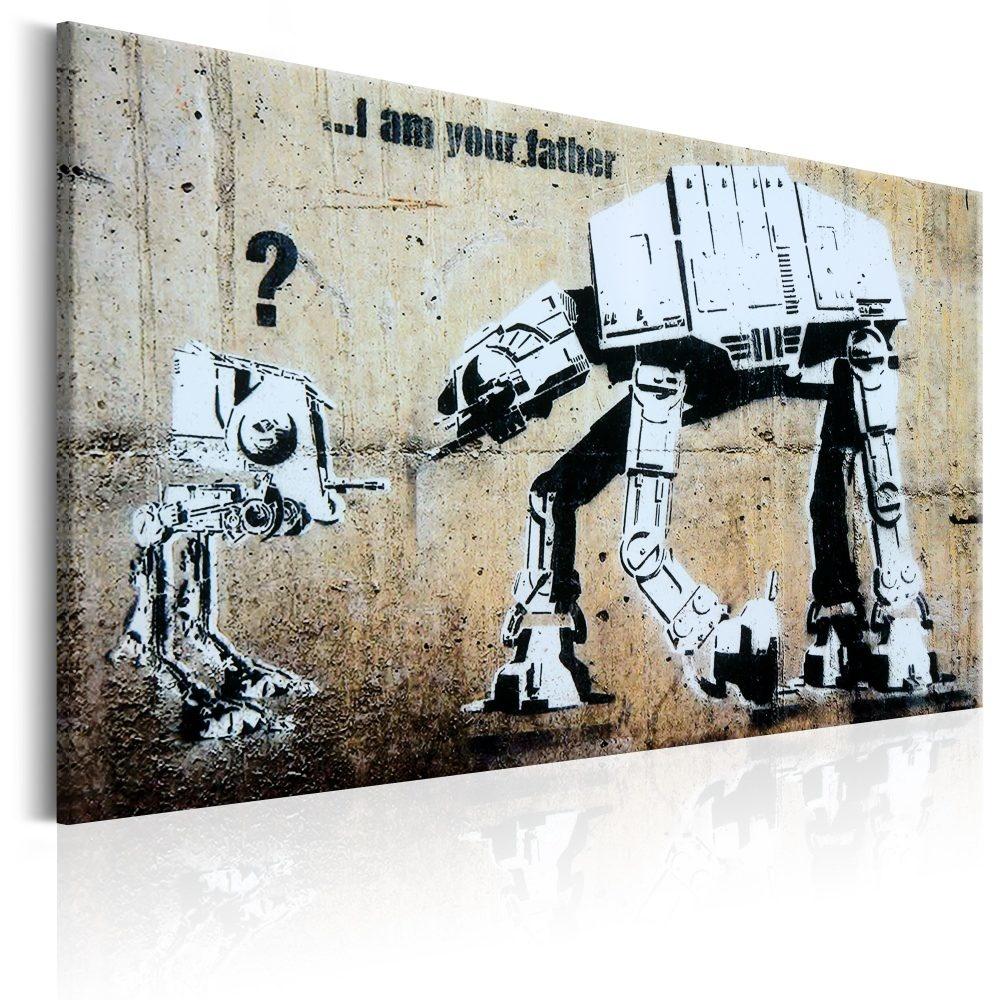 Schilderij - I Am Your Father , Banksy