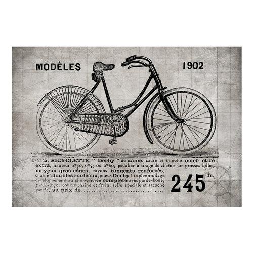 Fotobehang - Fiets(Vintage)